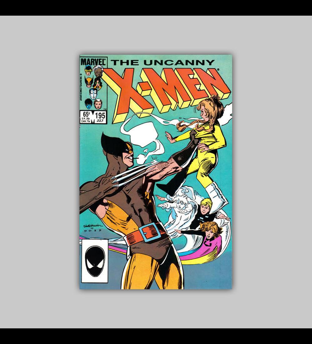 Uncanny X-Men 195 1985