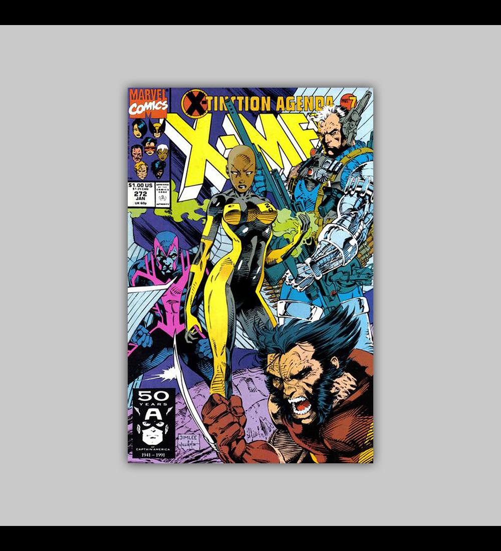 Uncanny X-Men 272 1991