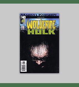 Wolverine/Hulk 1 2002