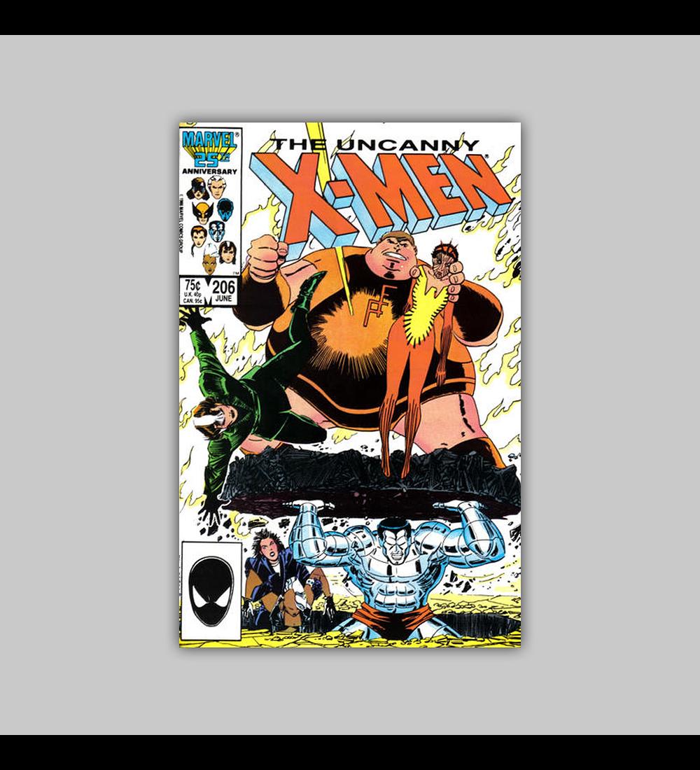 Uncanny X-Men 206 1986