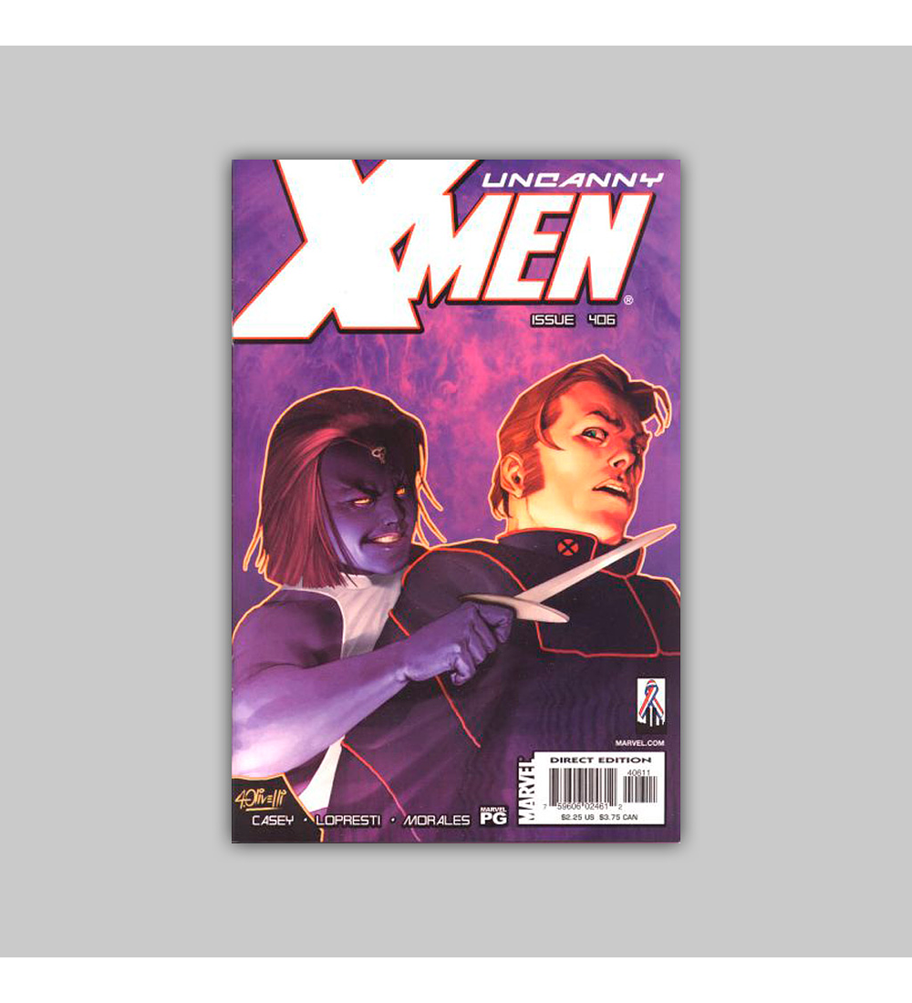 Uncanny X-Men 406 2002