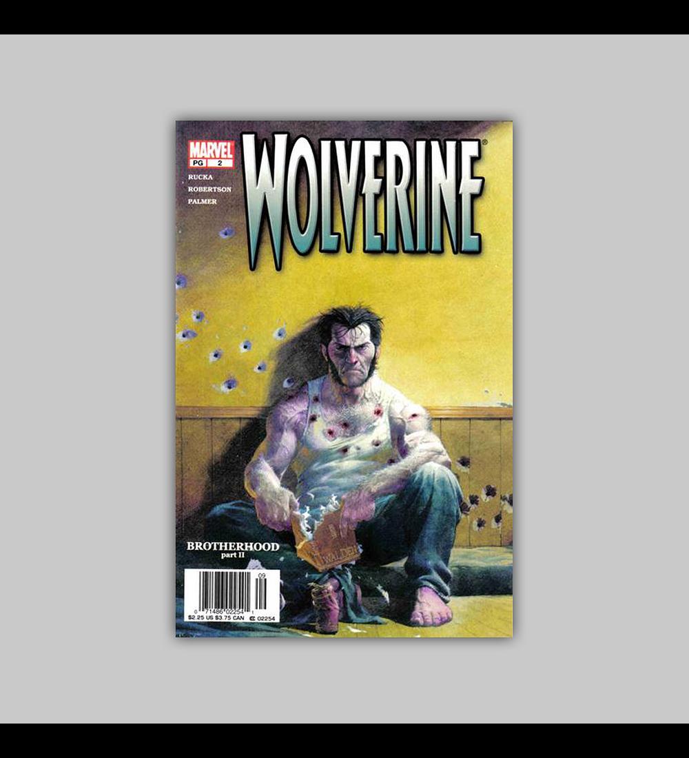 Wolverine (Vol. 2) 2 2003
