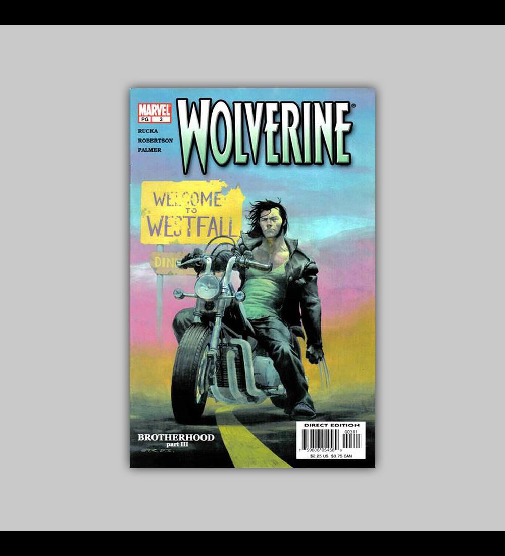 Wolverine (Vol. 2) 3 2003