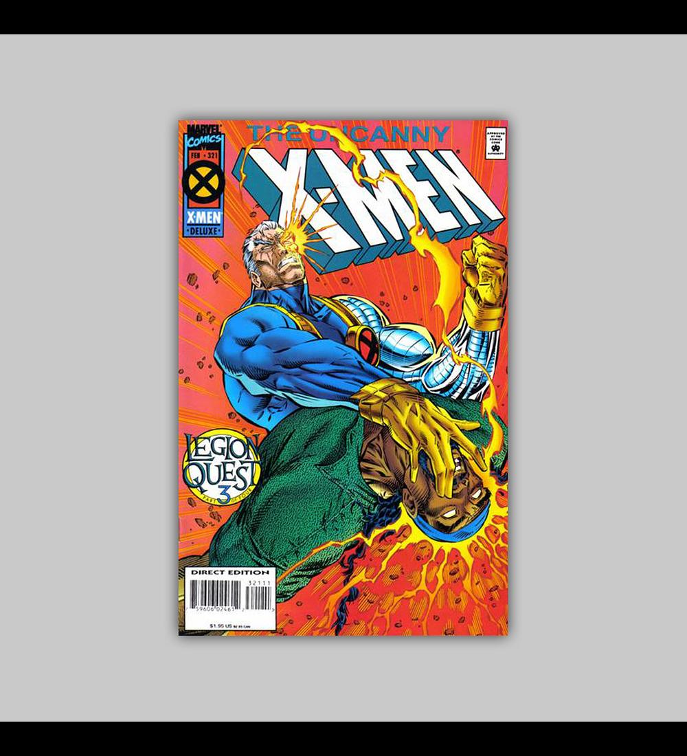 Uncanny X-Men 321 1995