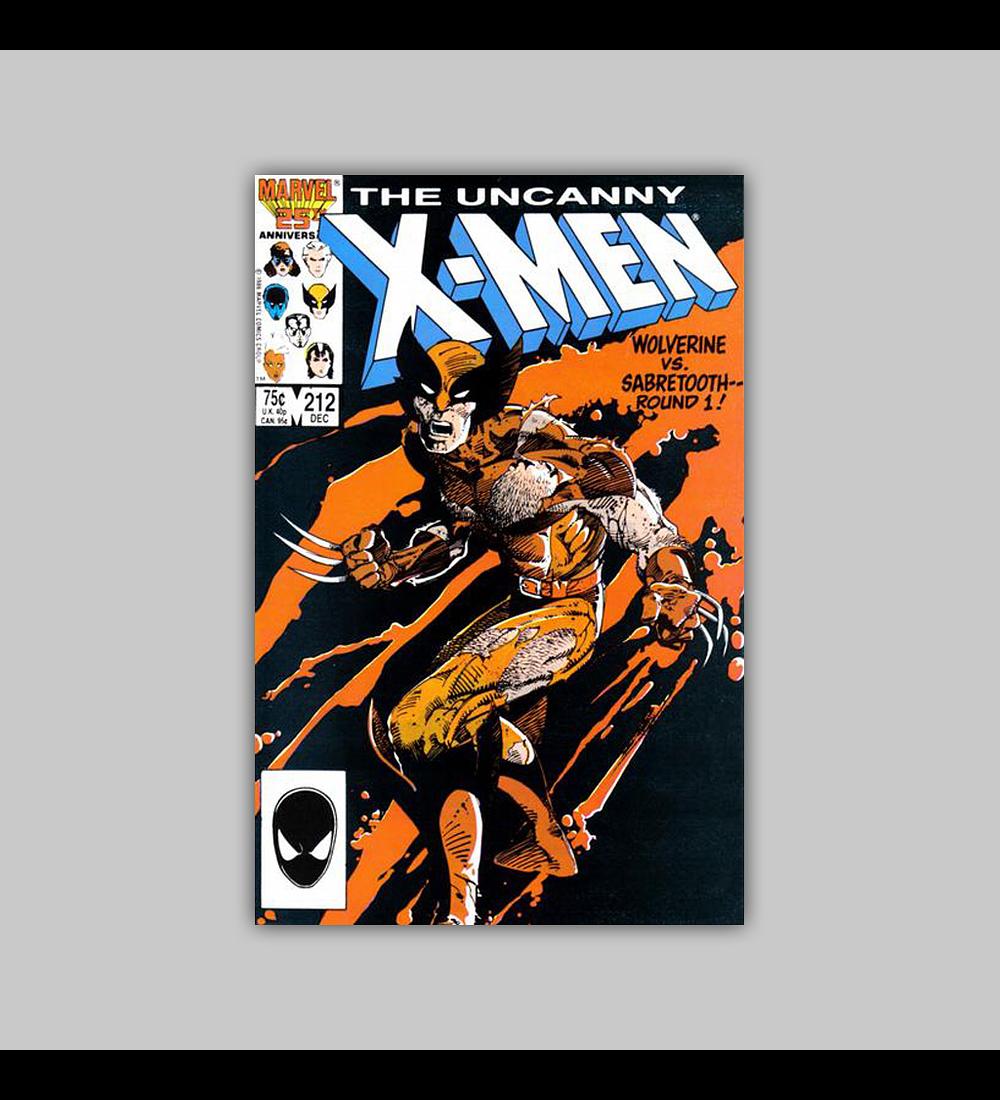 Uncanny X-Men 212 1986