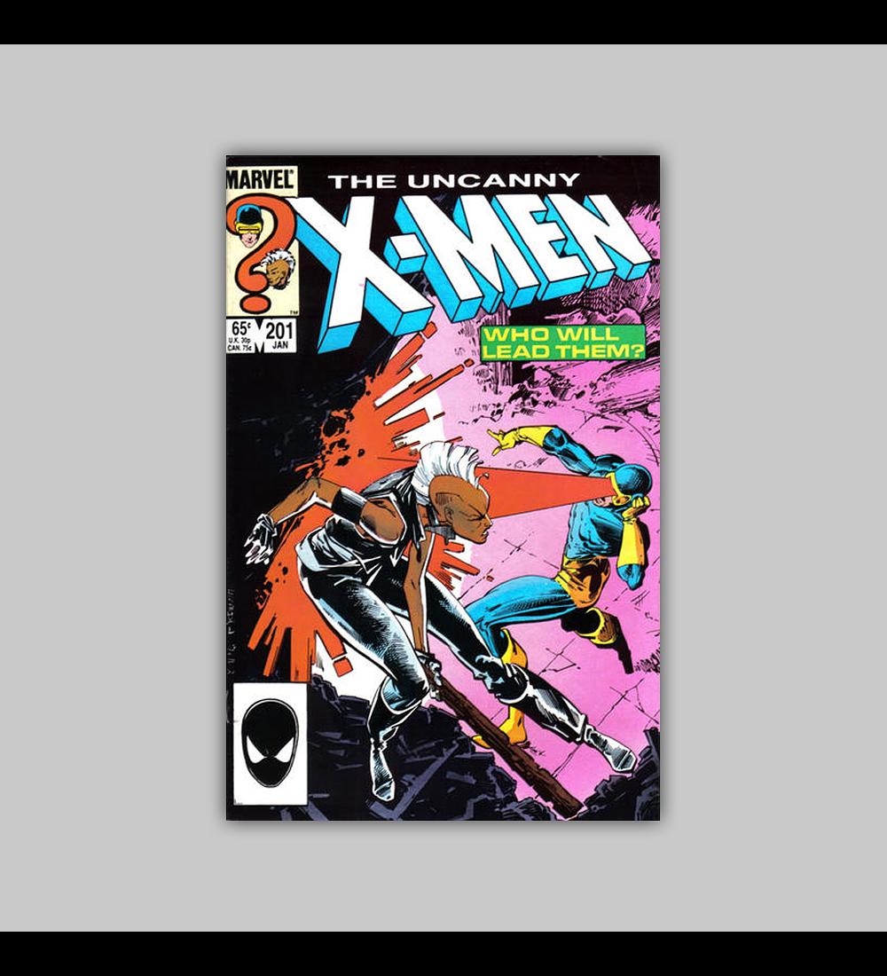 Uncanny X-Men 201 1986
