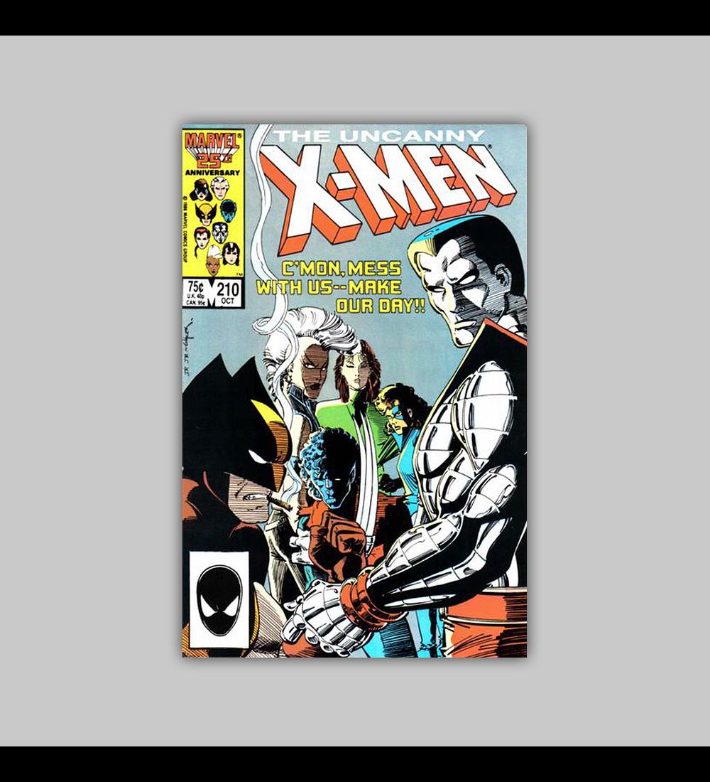 Uncanny X-Men 210 1986