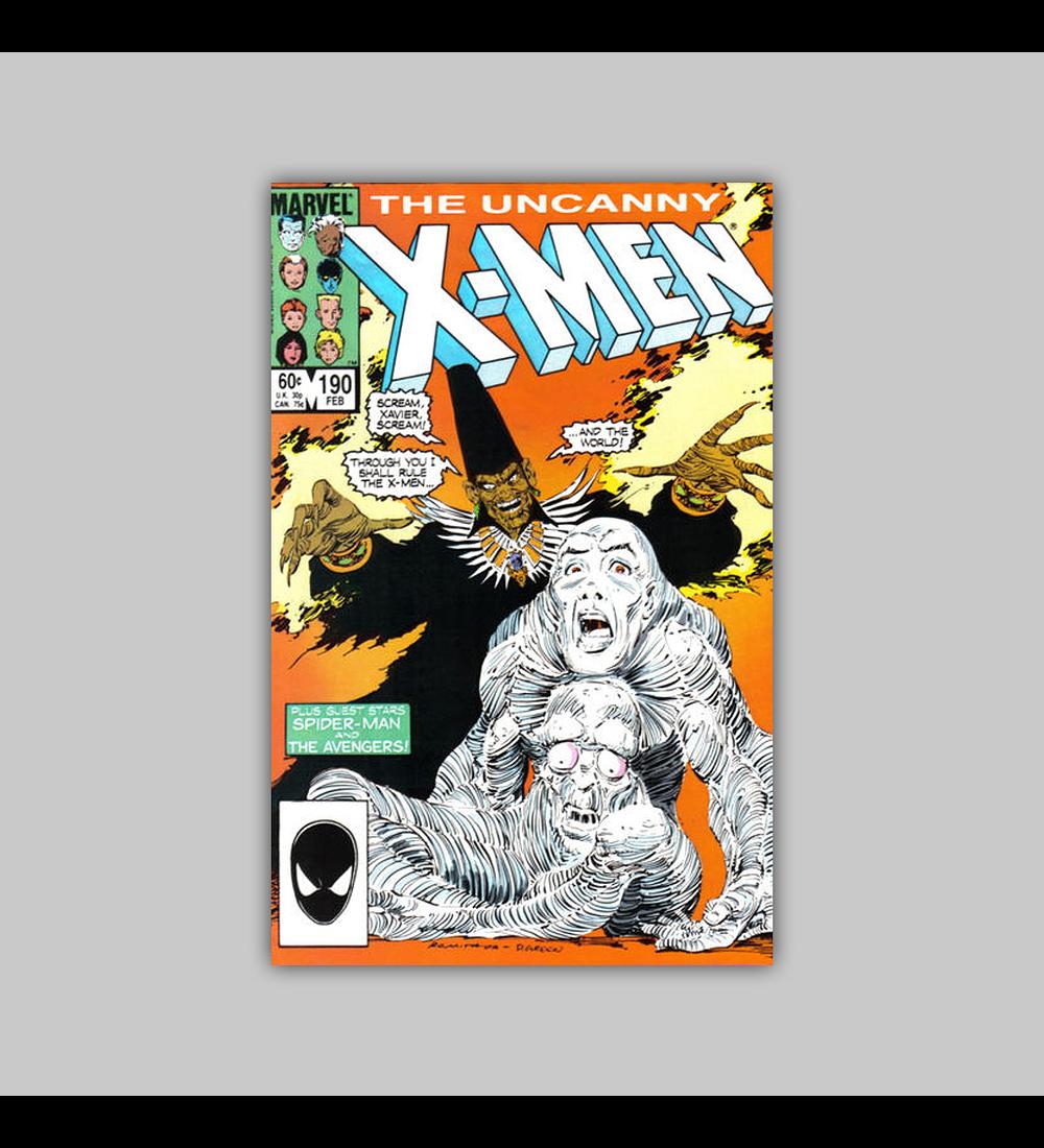 Uncanny X-Men 190 1985