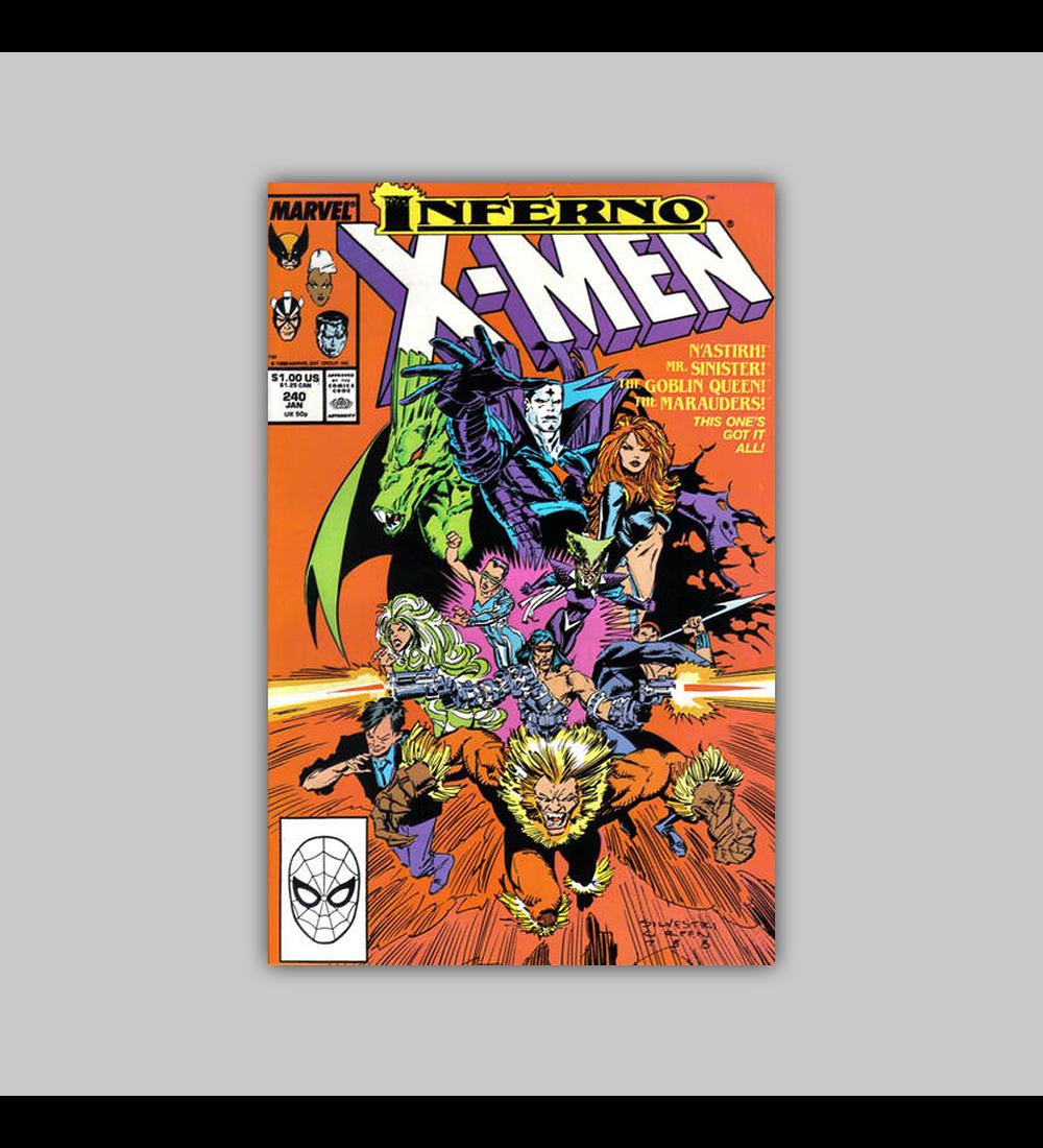 Uncanny X-Men 240 1988