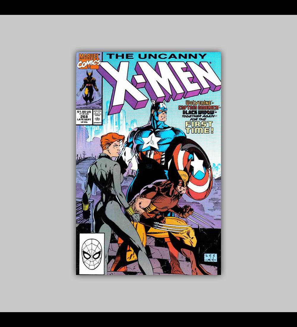 Uncanny X-Men 268 1990