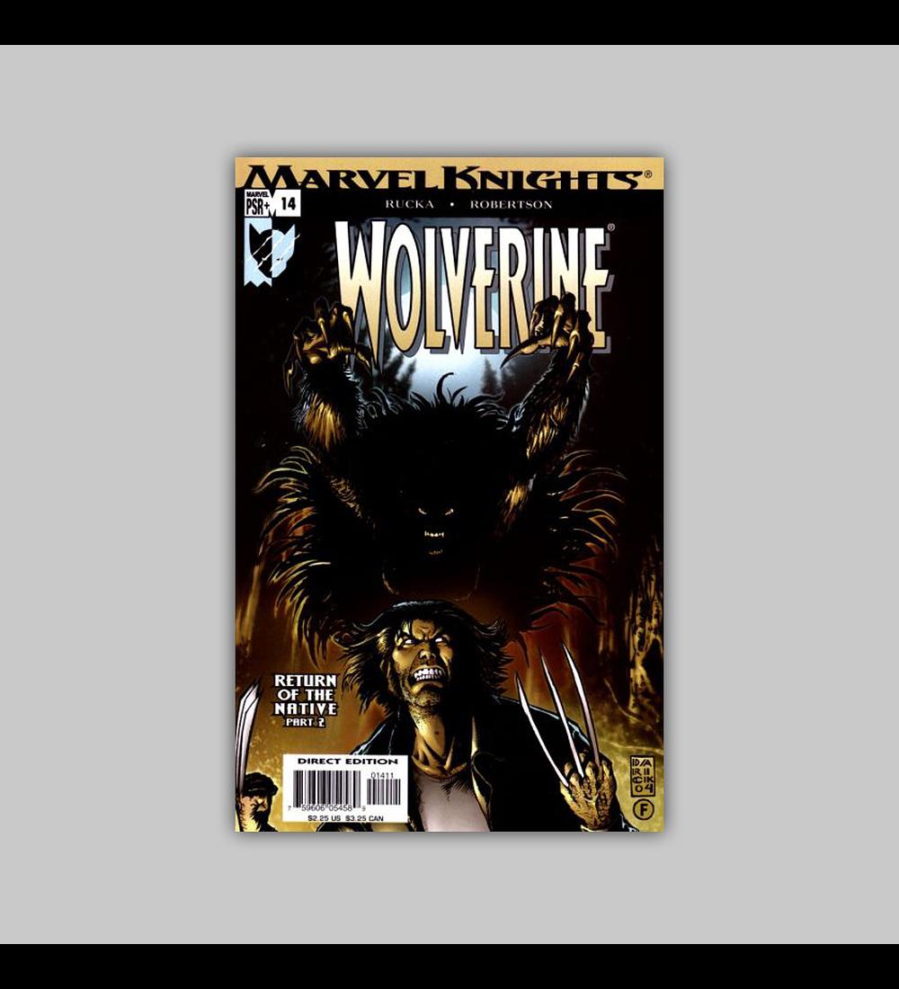 Wolverine (Vol. 2) 14 2004