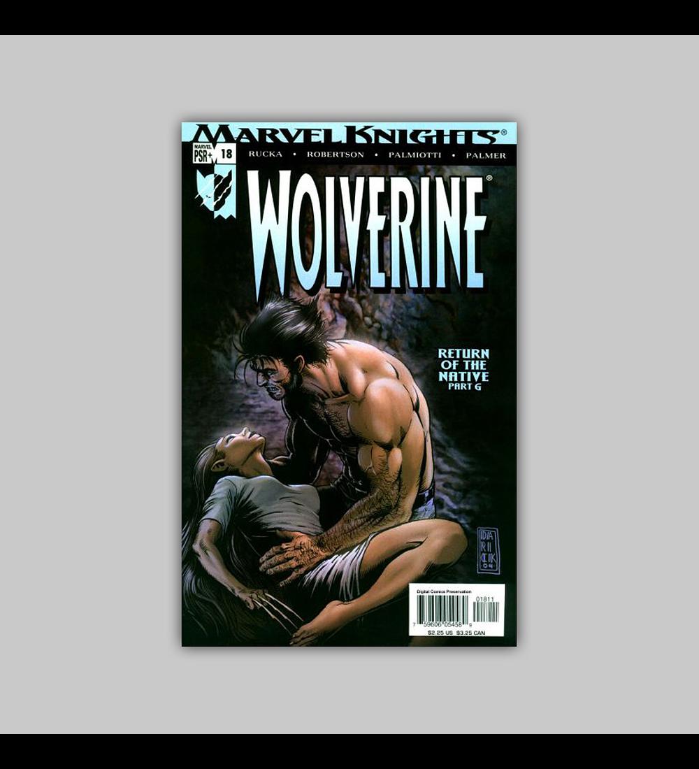 Wolverine (Vol. 2) 18 2004