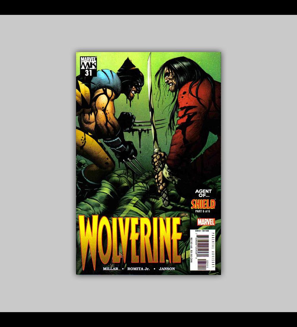 Wolverine (Vol. 2) 31 2005