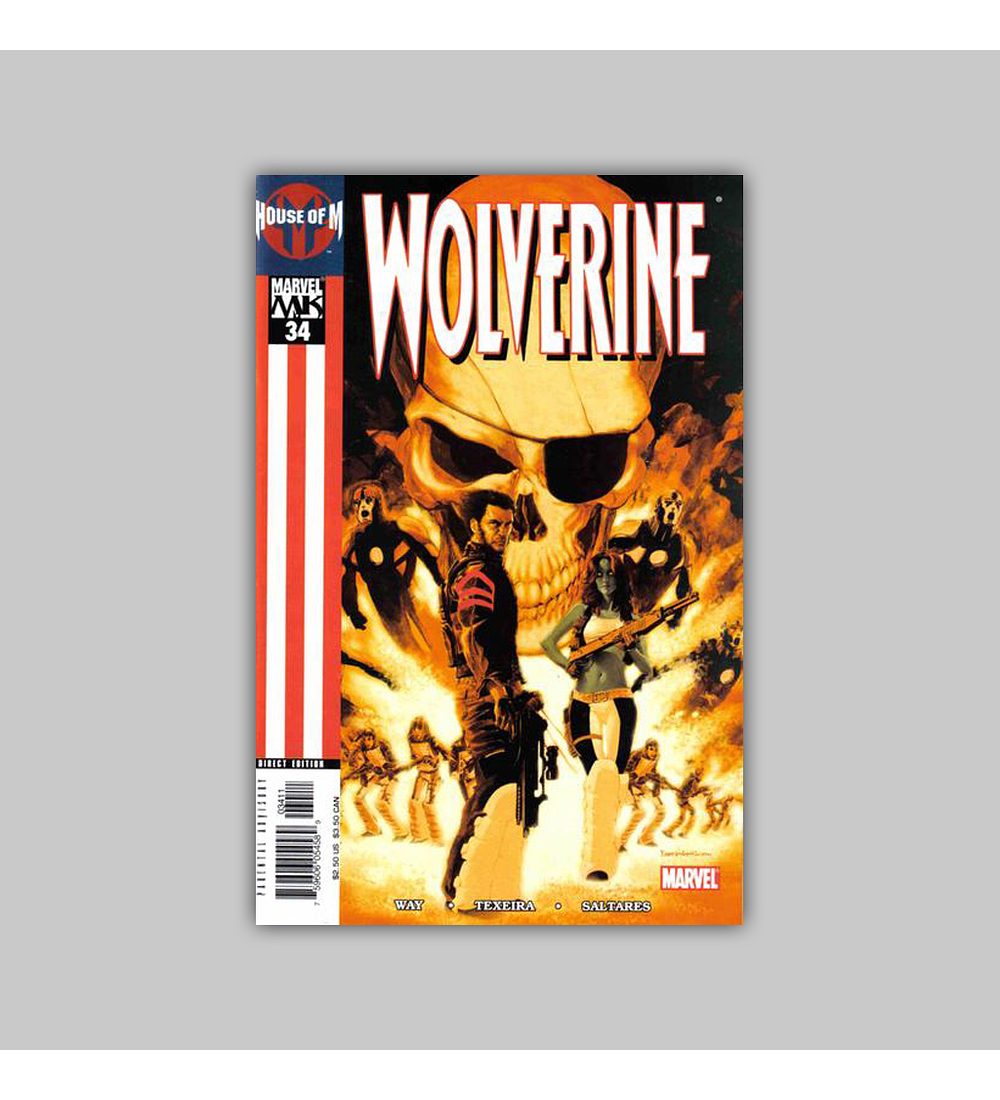 Wolverine (Vol. 2) 34 2005