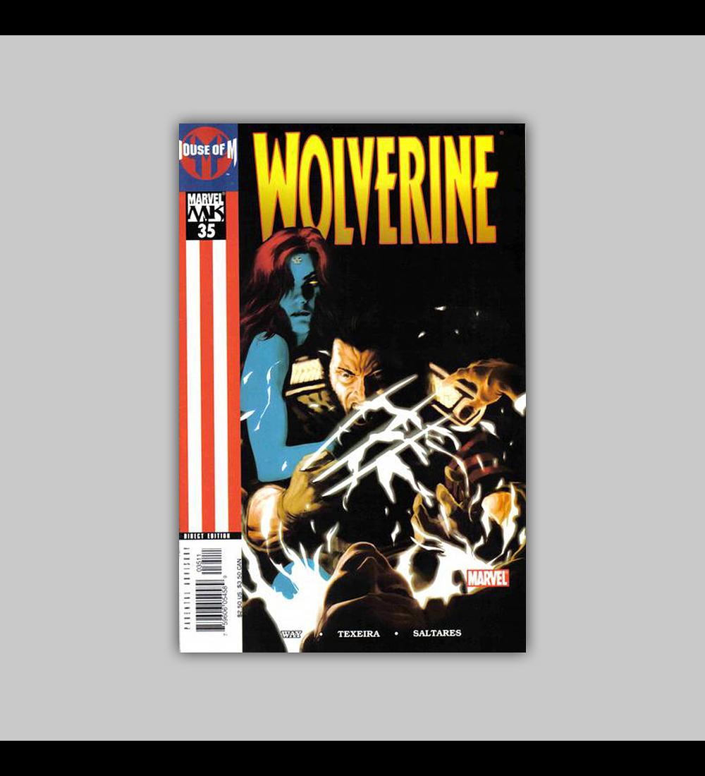 Wolverine (Vol. 2) 35 2005