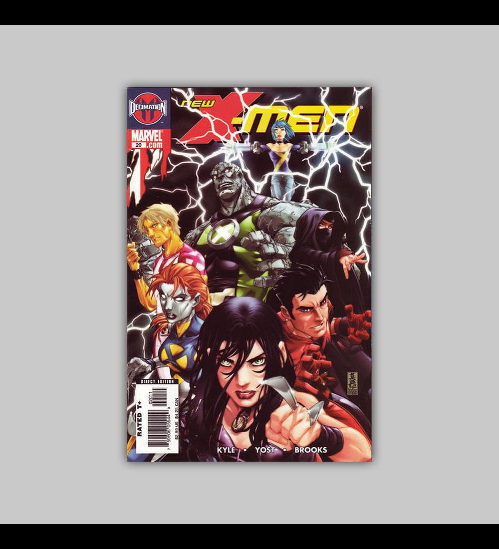 New X-Men: Academy X 20 2006