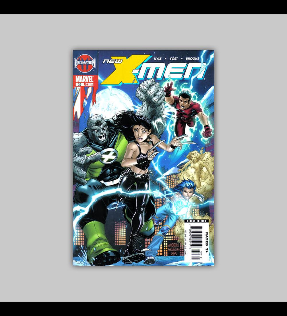New X-Men: Academy X 23 2006
