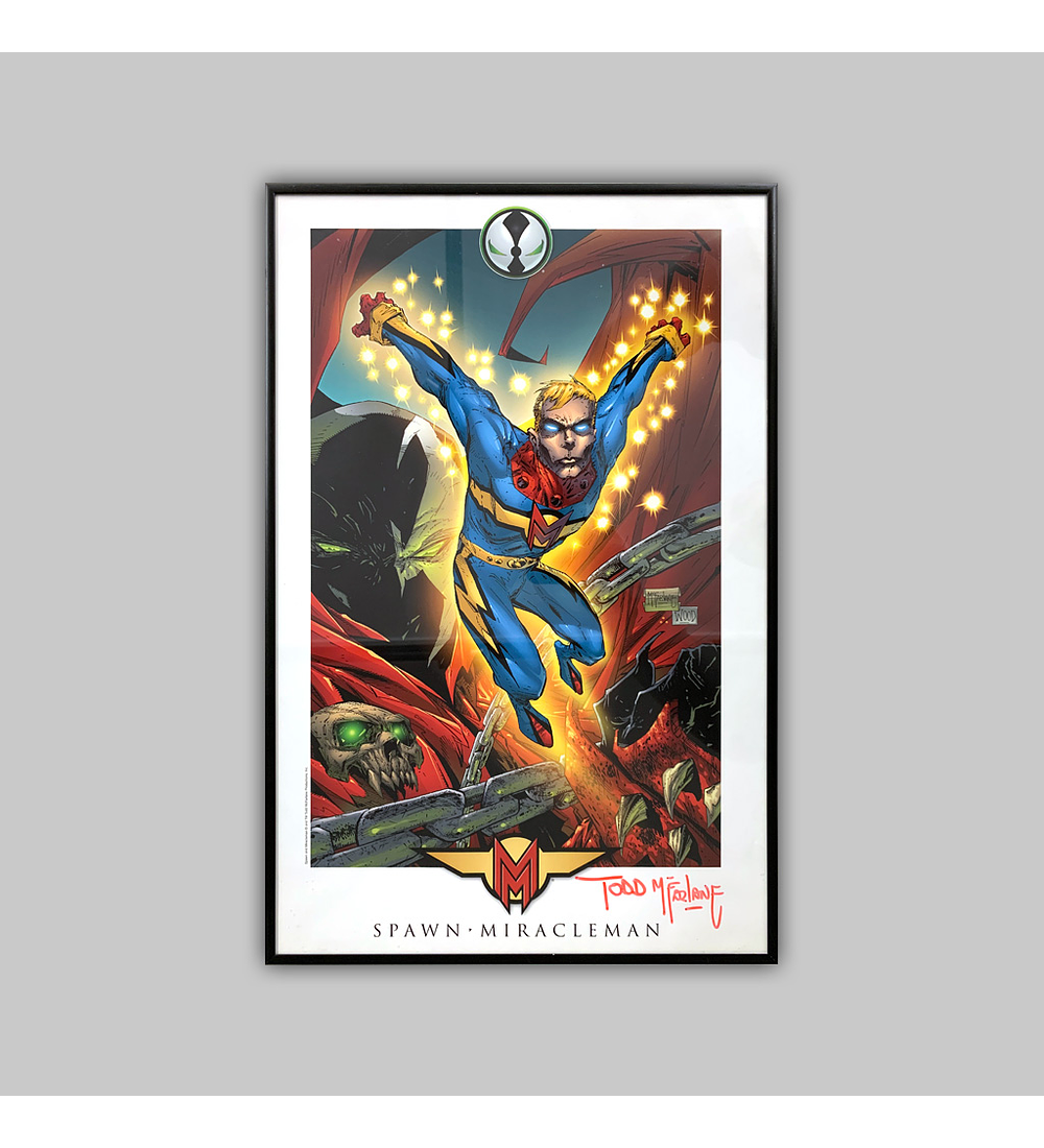 Spawn/Miracleman Print Signed