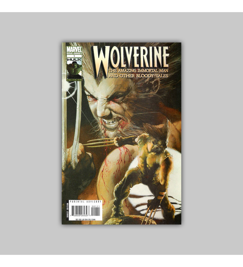 Wolverine: The Amazing Immortal Man and other Bloody Tales 2008