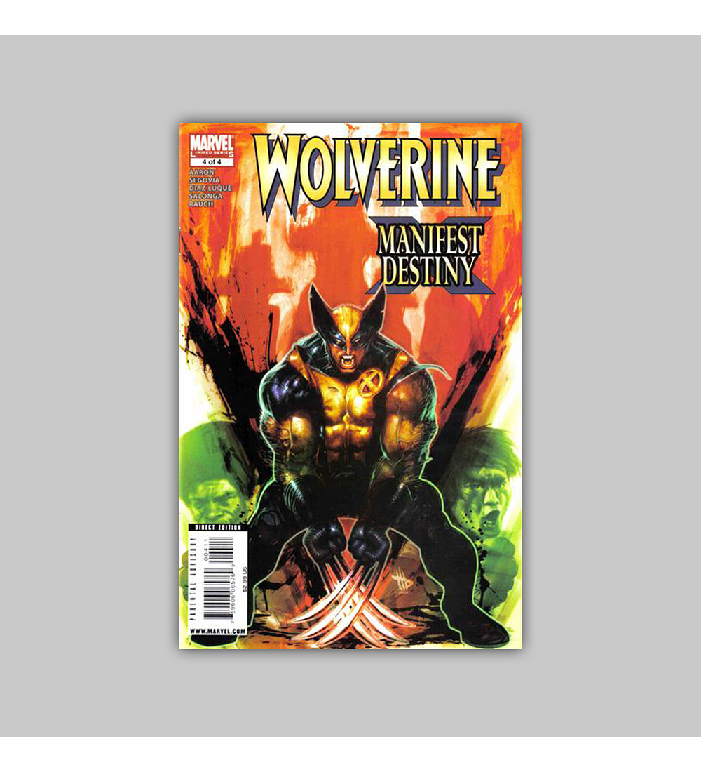 Wolverine: Manifest Destiny 4 2009
