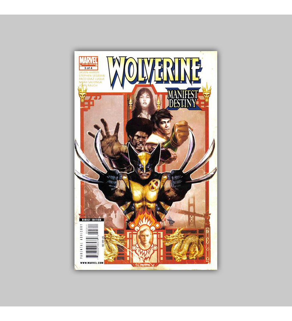 Wolverine: Manifest Destiny 3 2009
