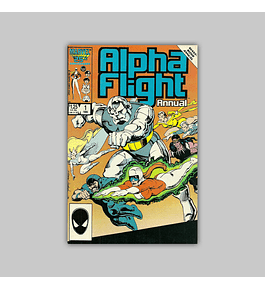 Alpha Flight Annual 1 1986
