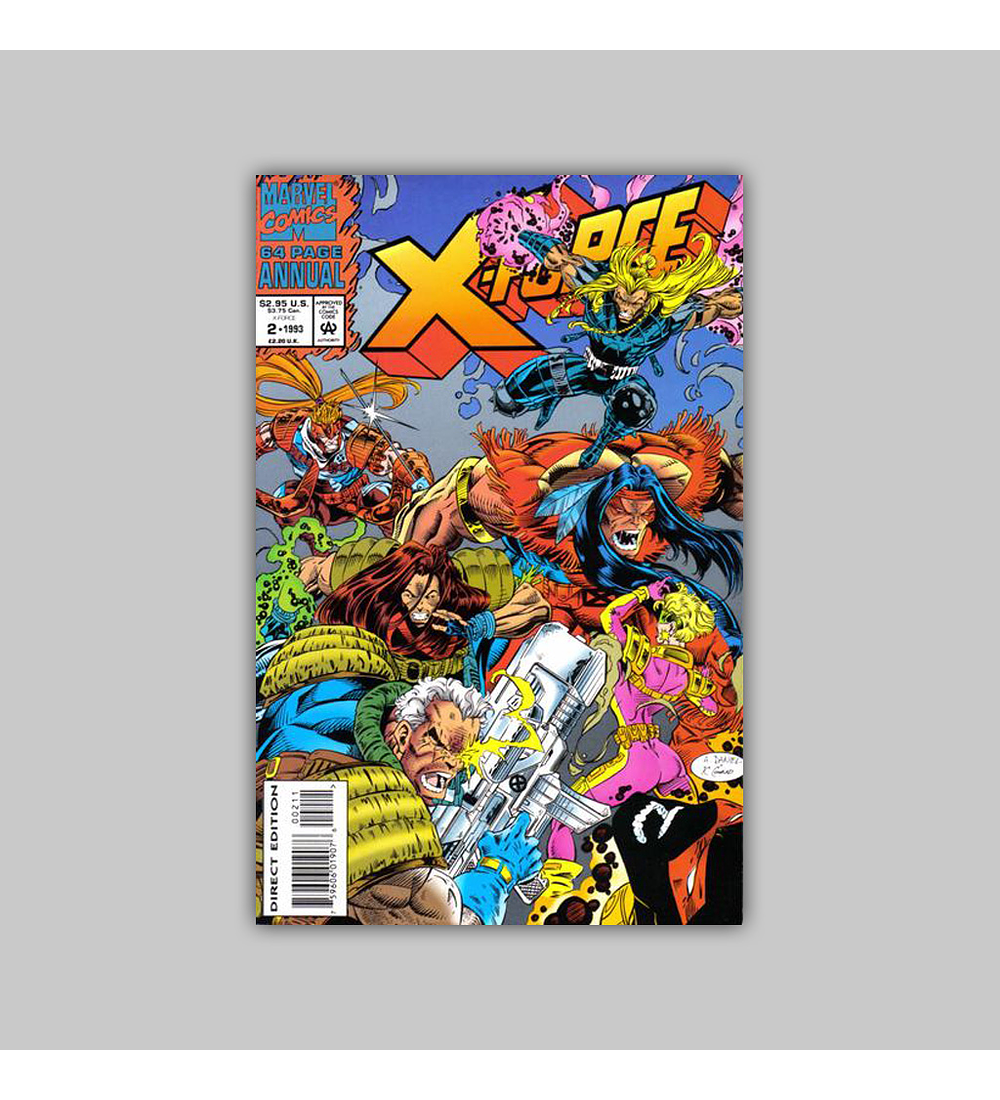 X-Force Annual 2 Polybagged 1993