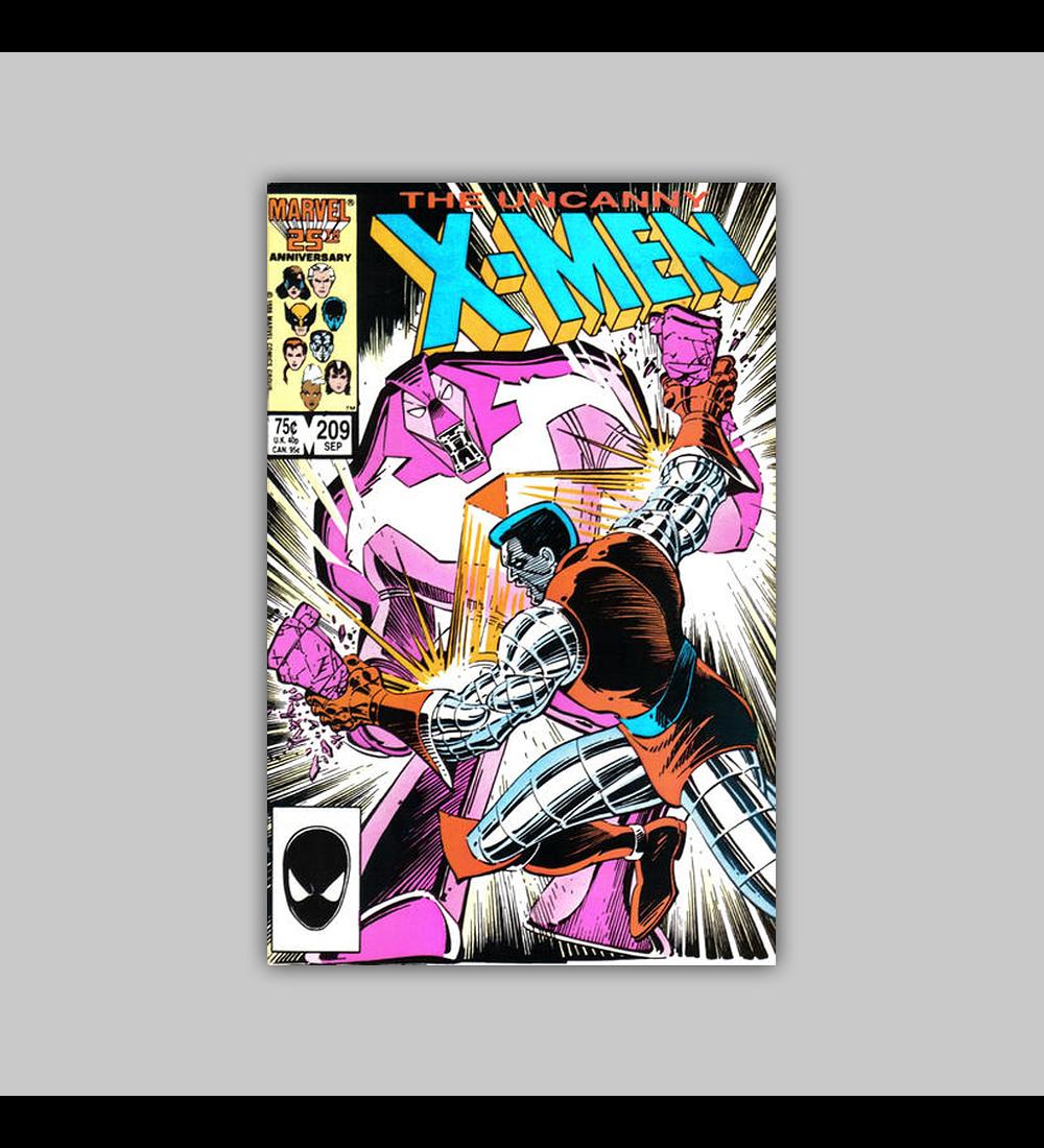 Uncanny X-Men 209 VF (8.0) 1986