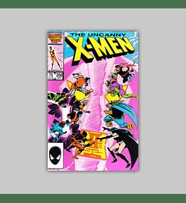 Uncanny X-Men 208 1986