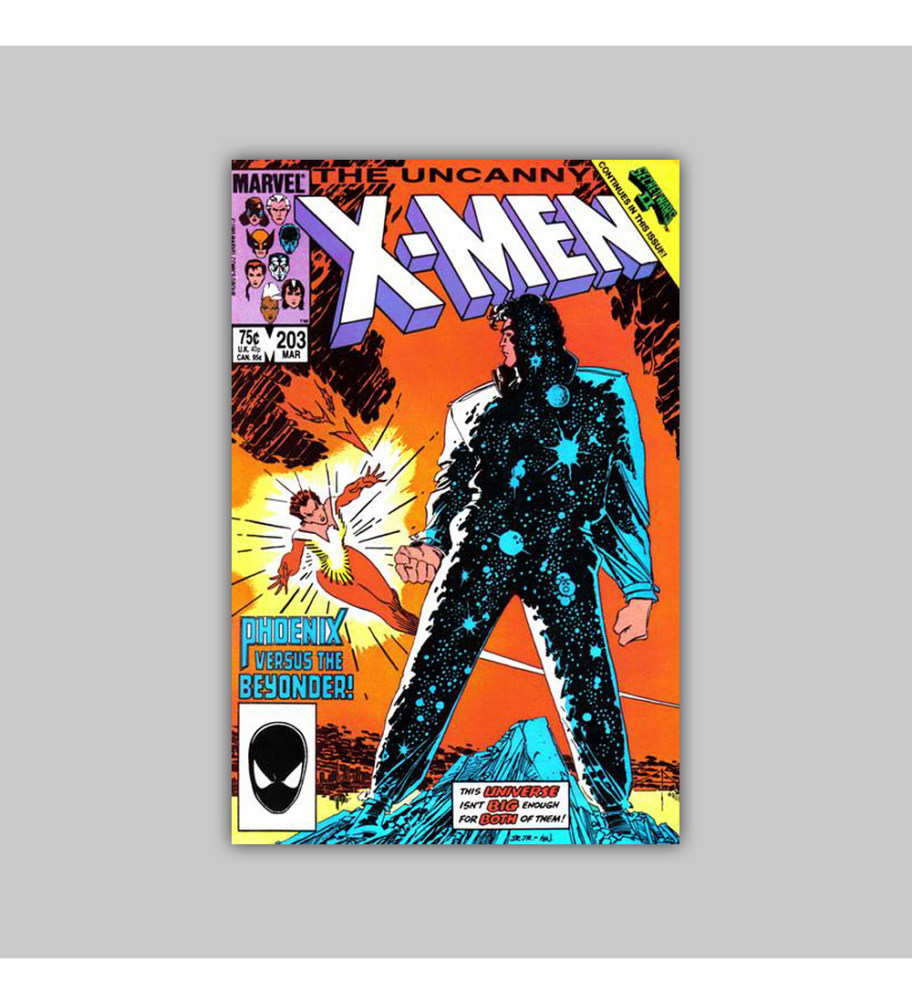 Uncanny X-Men 203 1986