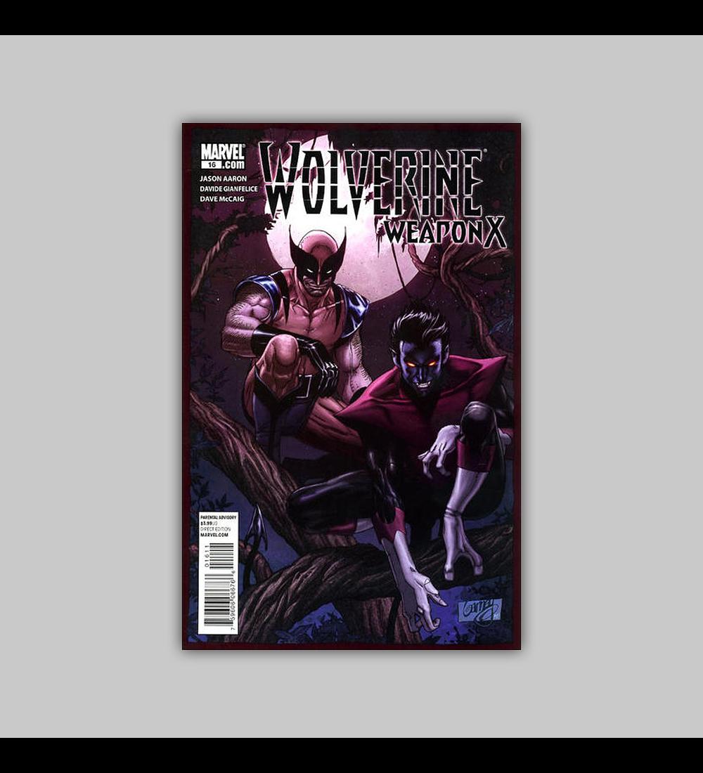 Wolverine: Weapon X 16 2010