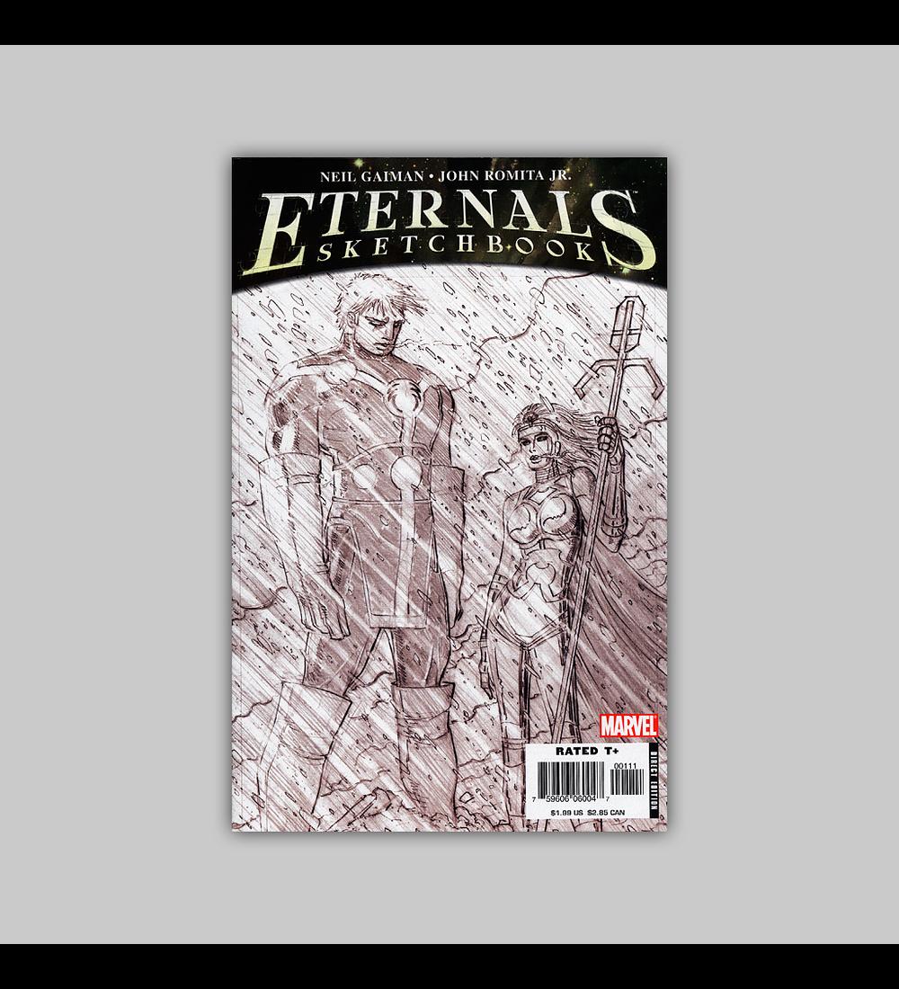 Eternals Sketchbook 1 2006