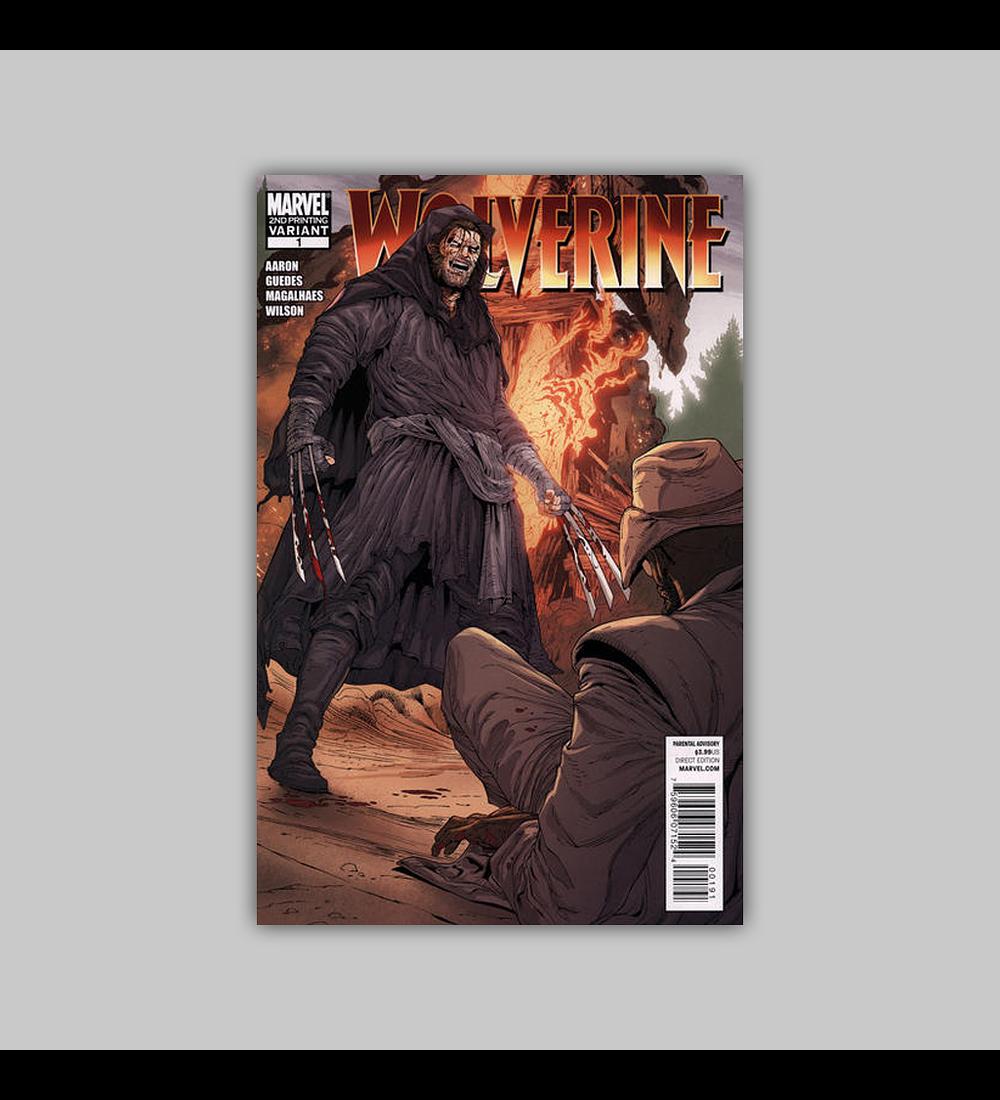 Wolverine (Vol. 3) 1 2nd. Printing 2010