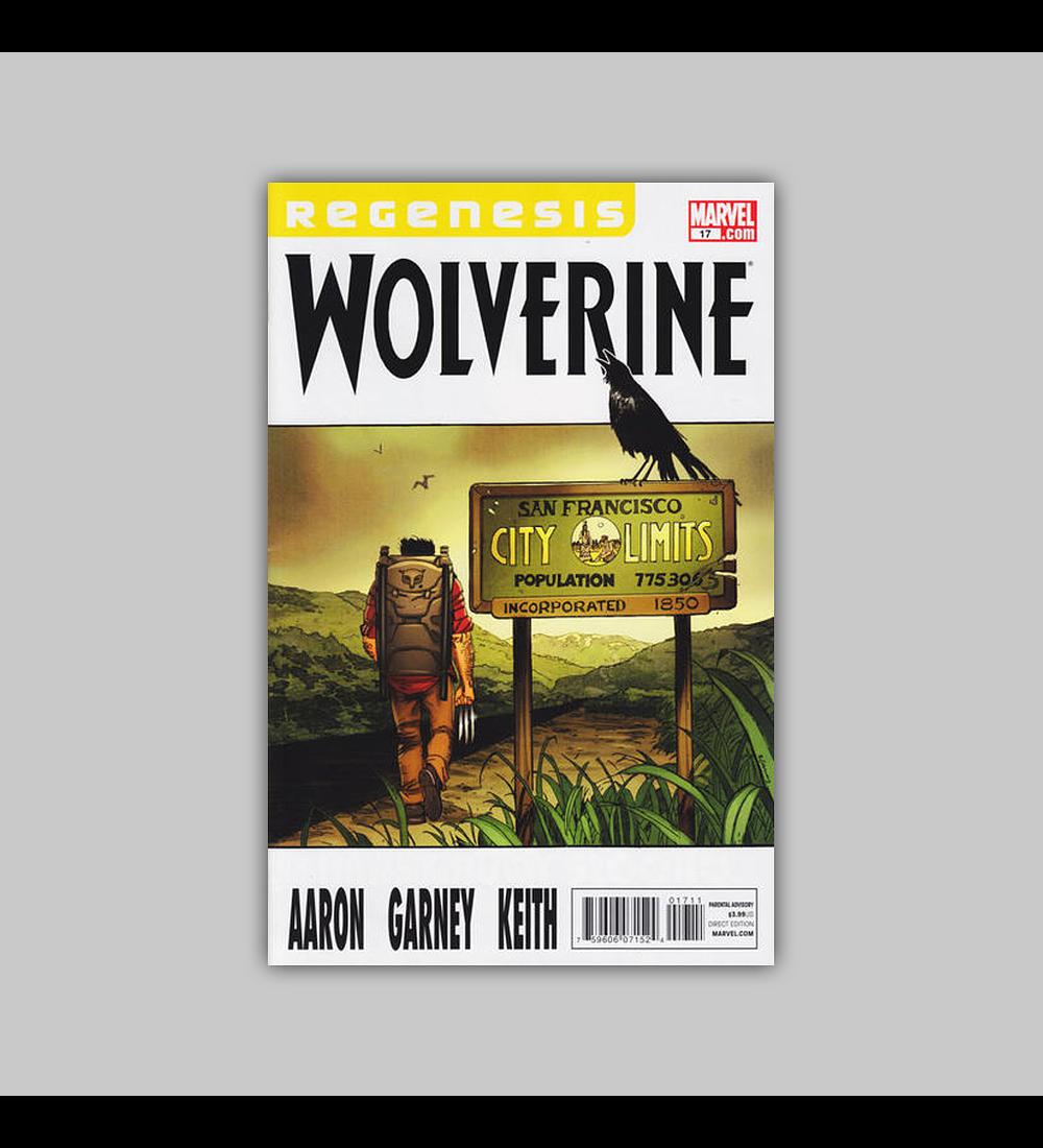 Wolverine (Vol. 3) 17 2011