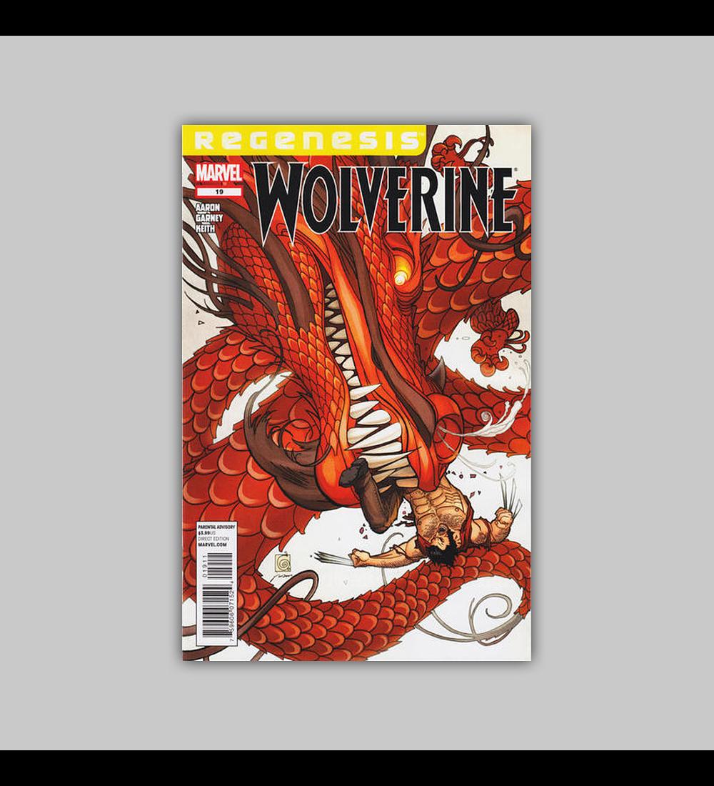 Wolverine (Vol. 3) 19 2012