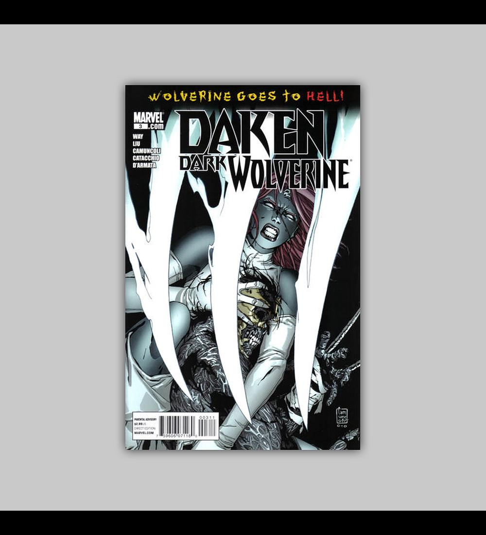 Daken: Dark Wolverine 3 2011