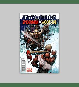 Astonishing Spider-Man/Wolverine 5 2011
