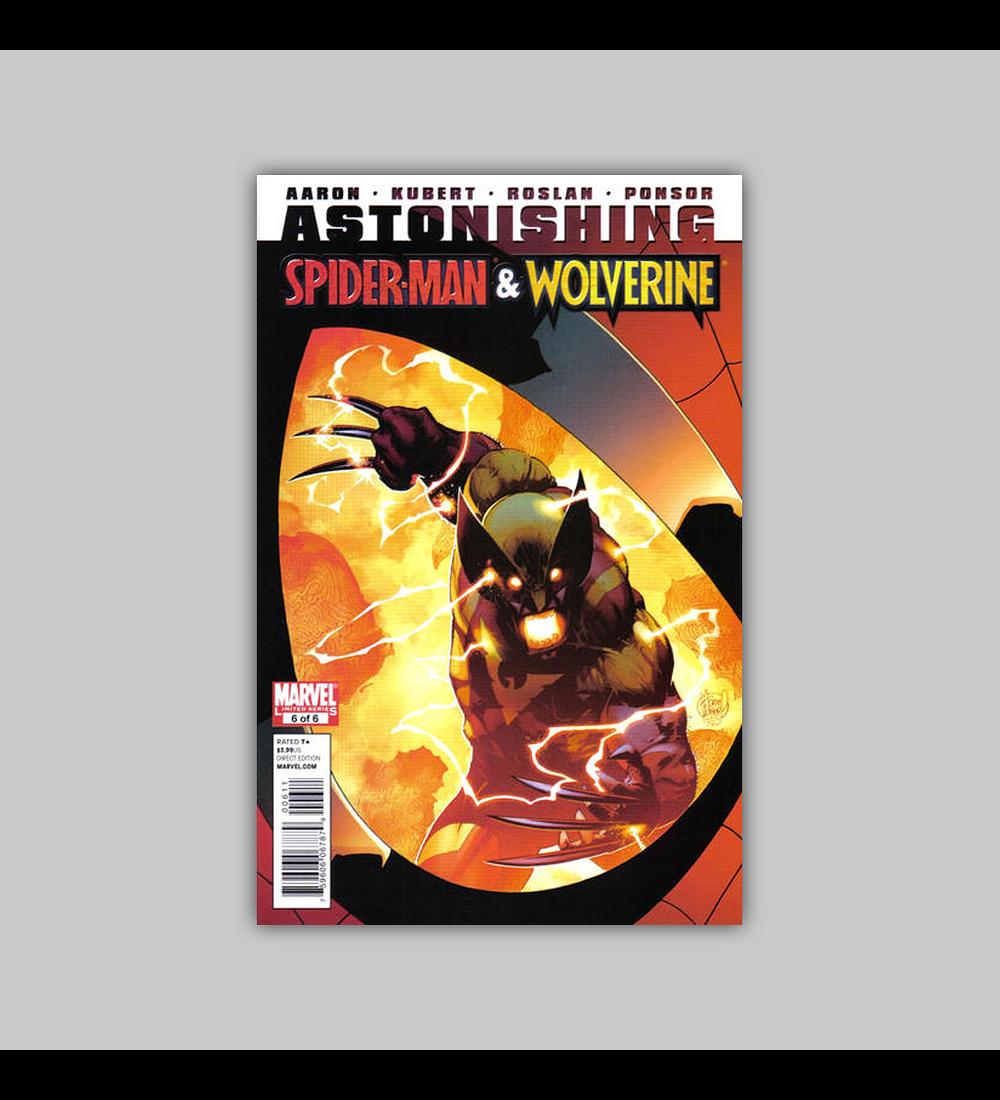 Astonishing Spider-Man/Wolverine 6 2011