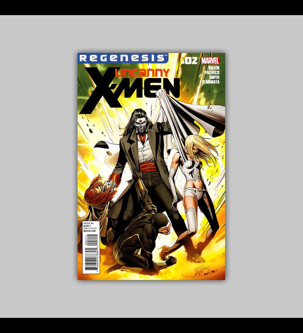 Uncanny X-Men (Vol. 2) 2 2012