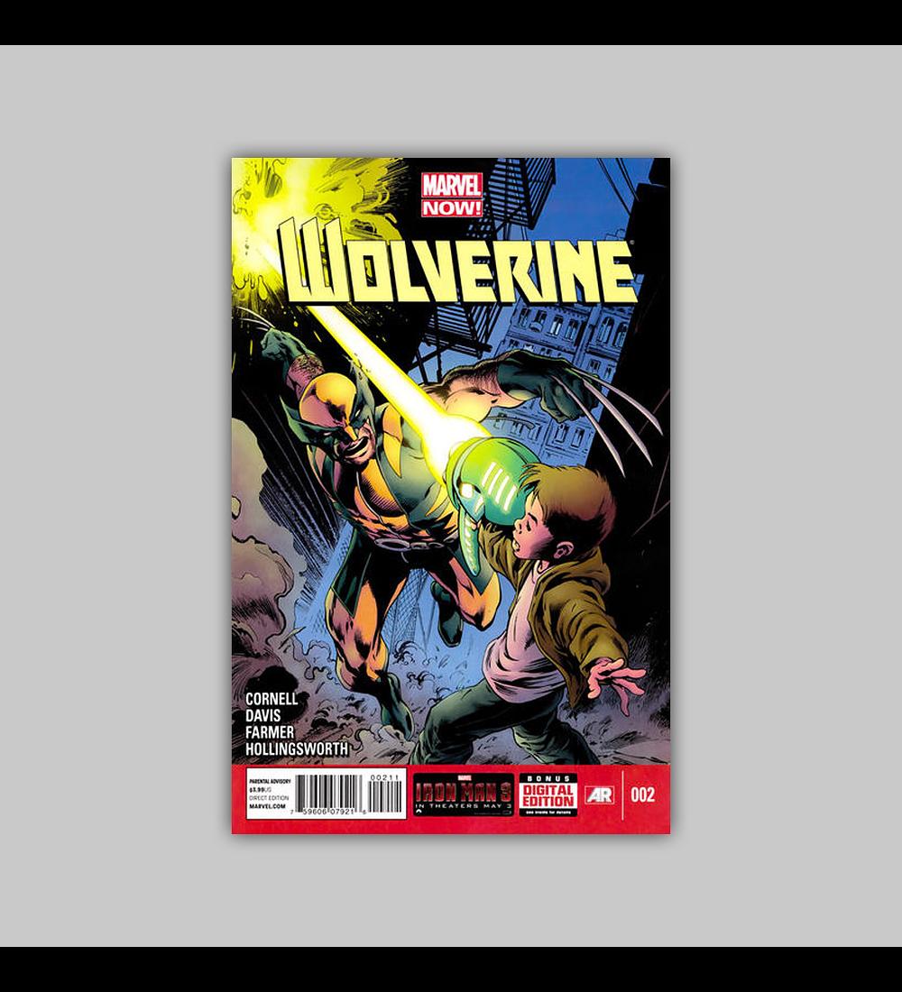 Wolverine (Vol. 4) 2 2013