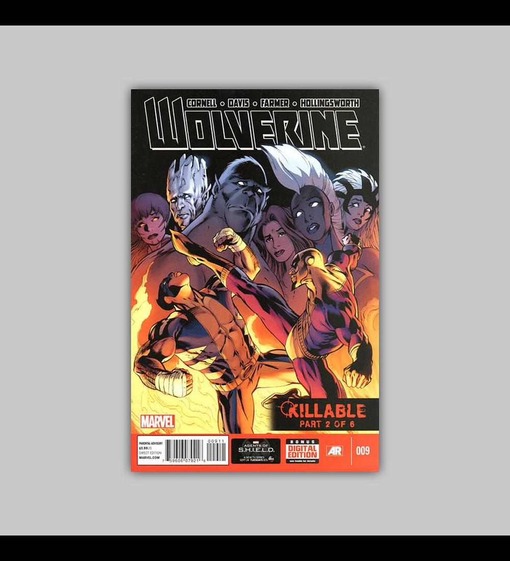 Wolverine (Vol. 4) 9 2013