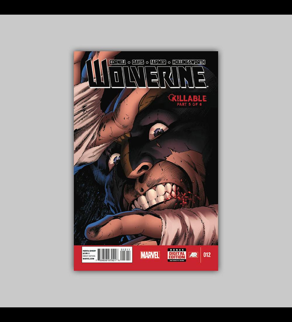 Wolverine (Vol. 4) 12 2014