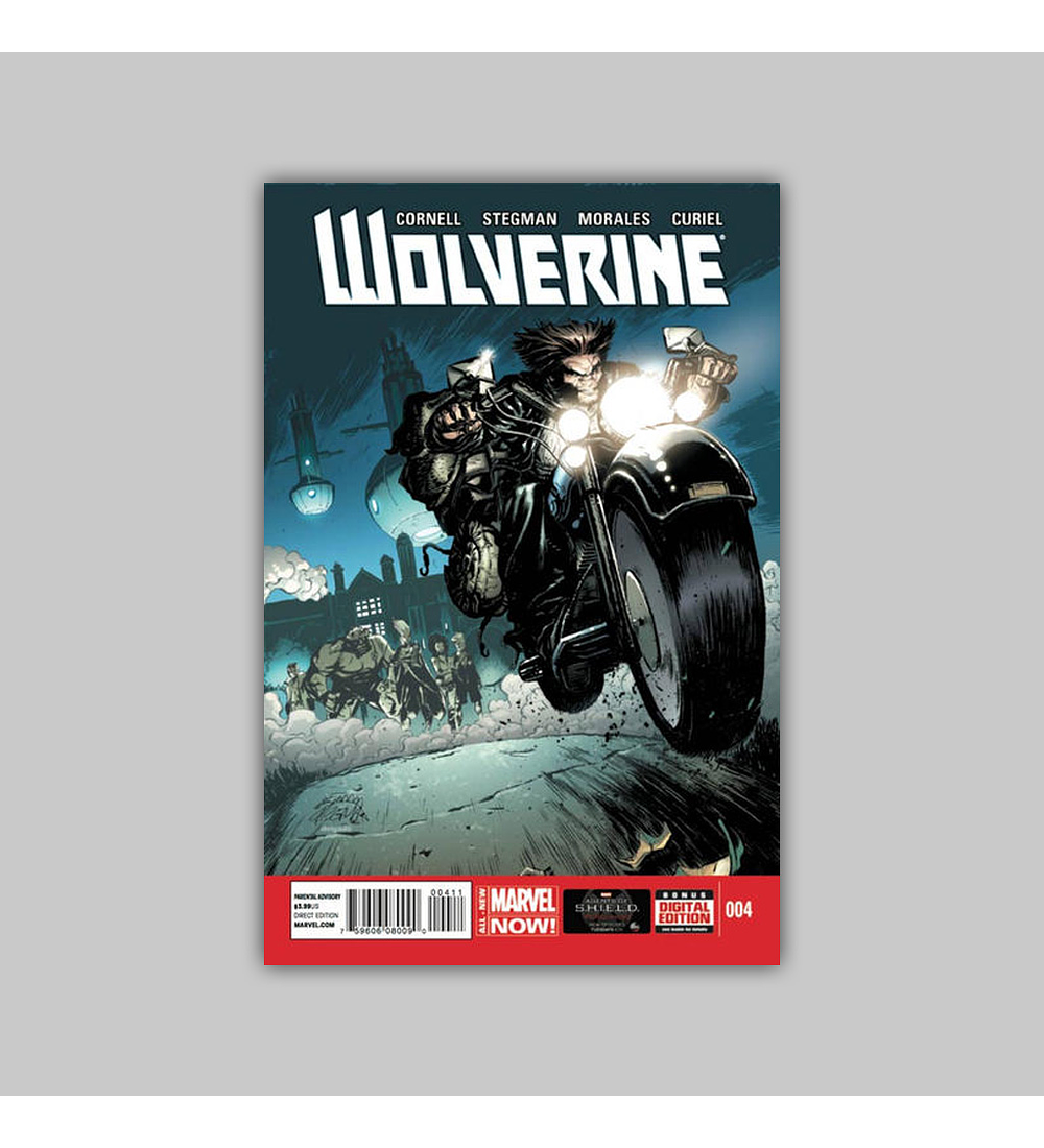 Wolverine (Vol. 5) 4 2014