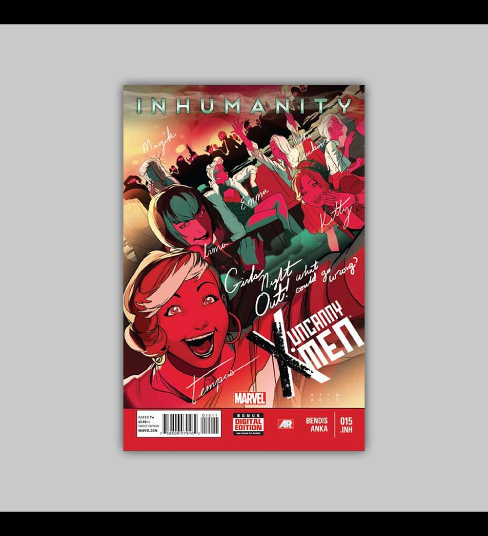 Uncanny X-Men (Vol. 3) 15 2014