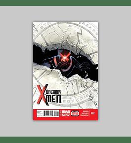 Uncanny X-Men (Vol. 3) 22 2014