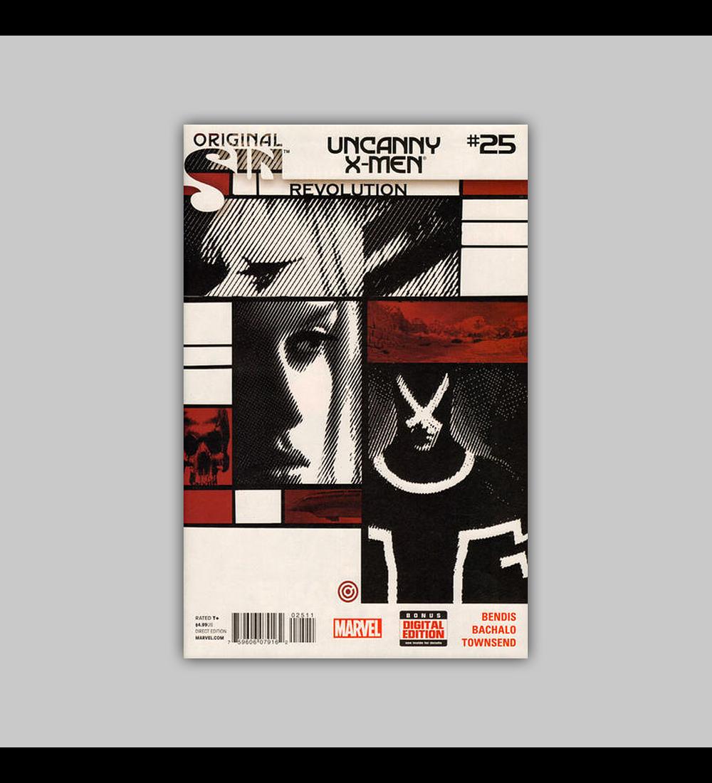 Uncanny X-Men (Vol. 3) 25 2014