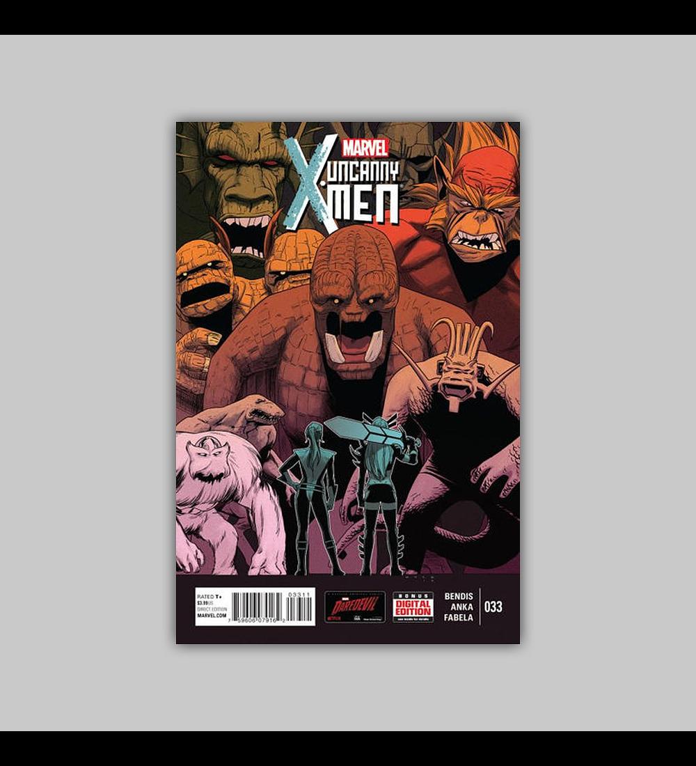Uncanny X-Men (Vol. 3) 33 2015