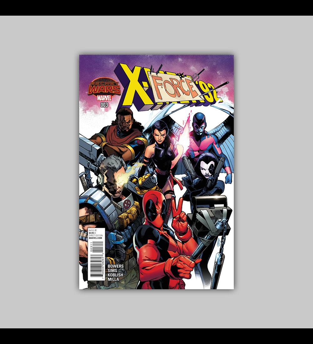 X-Men '92 3 2015