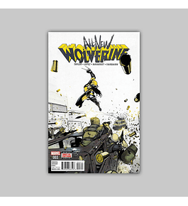 All New Wolverine 3 2016