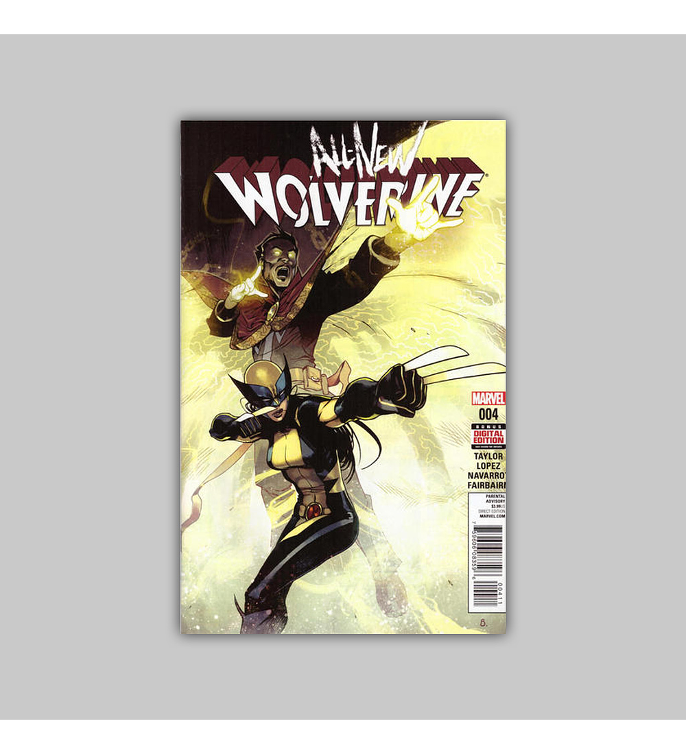 All New Wolverine 4 2016